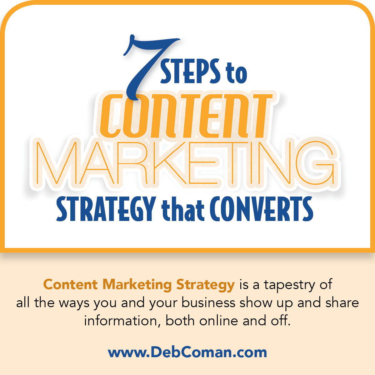 7 Steps to Content Marketing Strategy That Converts Free Gift