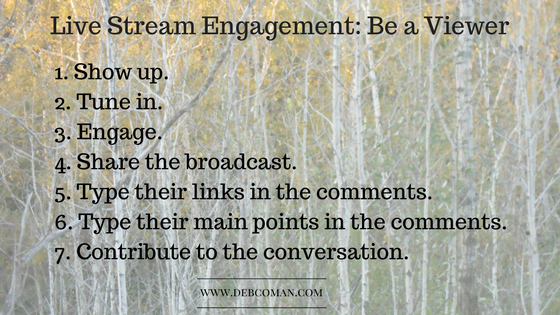 Engage on Periscope: Be a Viewer